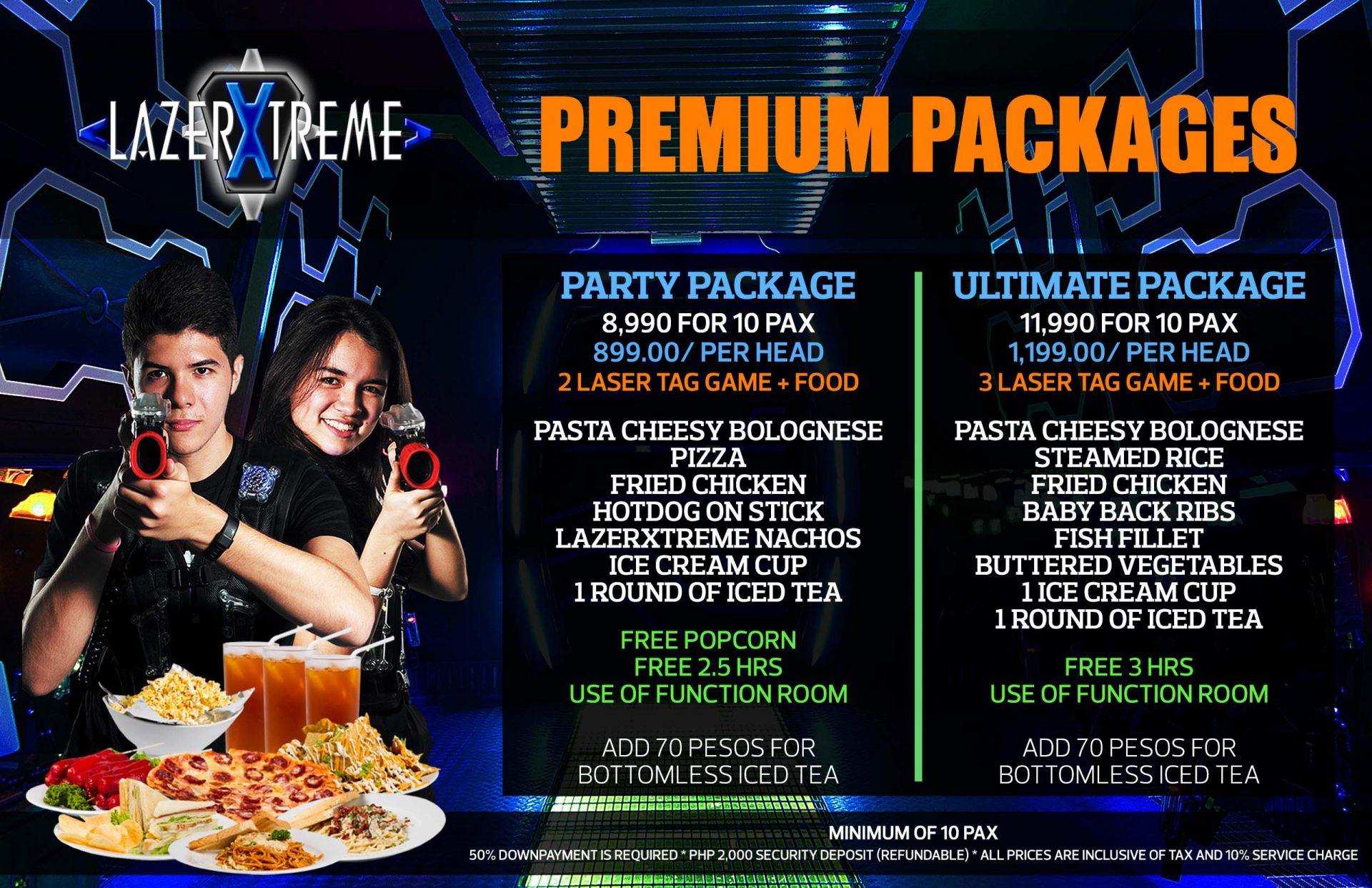 Laser Tag Game Rates Amp Packages Lazerxtreme Manila